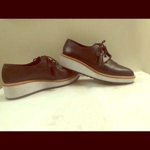 Loeffler Randall tassel Oxford platform shoe